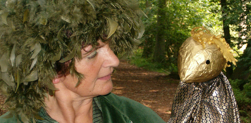 Poppentheater - Marleen Groenland - Op zoek naar de gouden vogel