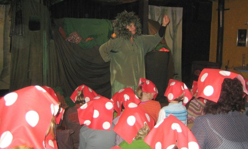 Groeneland Theater - De verdwenen paddenstoel