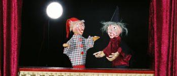 Afbeelding bij Luuks Theater: 2 Jan Klaassen poppenspelen