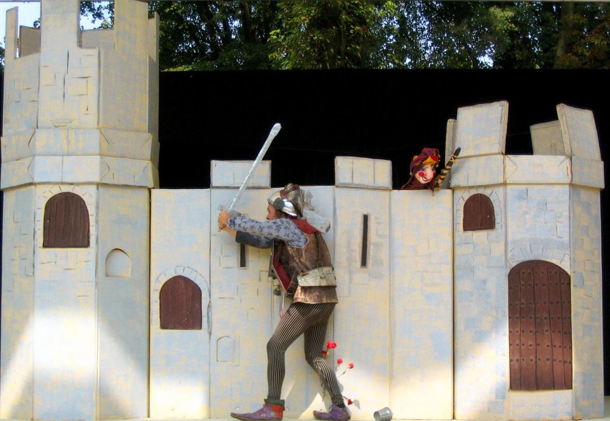 Ridder zonder Hart - Nomad Theater - Kindervoorstelling Natuurtheater Oisterwijk