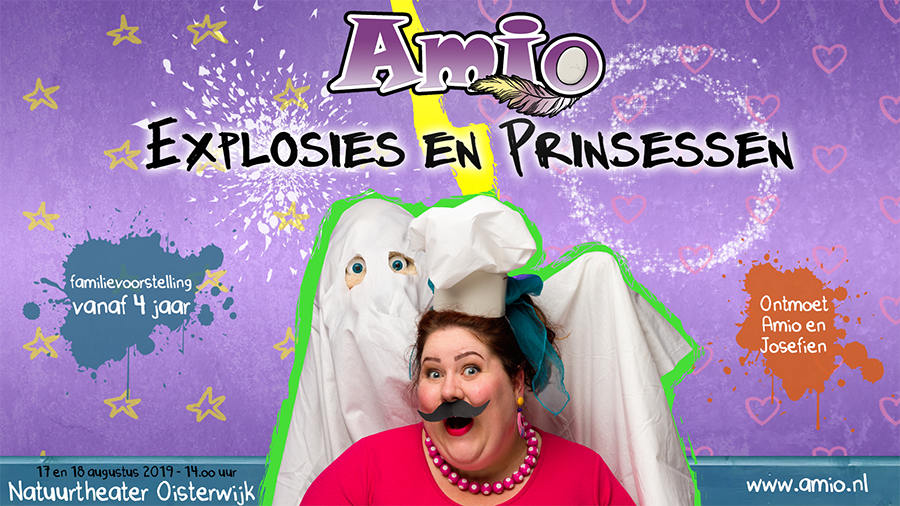 Amio: Explosies en prinsessen