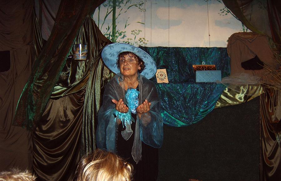 Poppentheater 't Groene Land - Bosvrouwtje