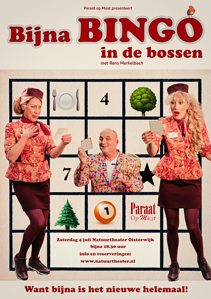 Poster Bijna Bingo in de Bossen
